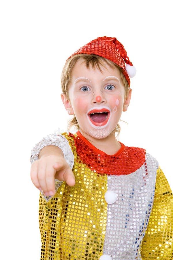 小丑 免版税库存图片