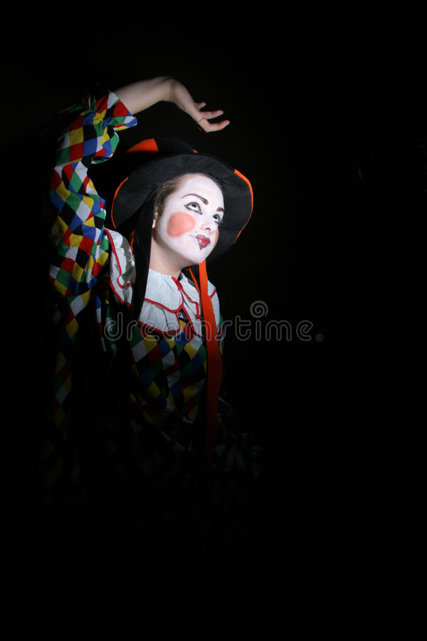 小丑 库存图片