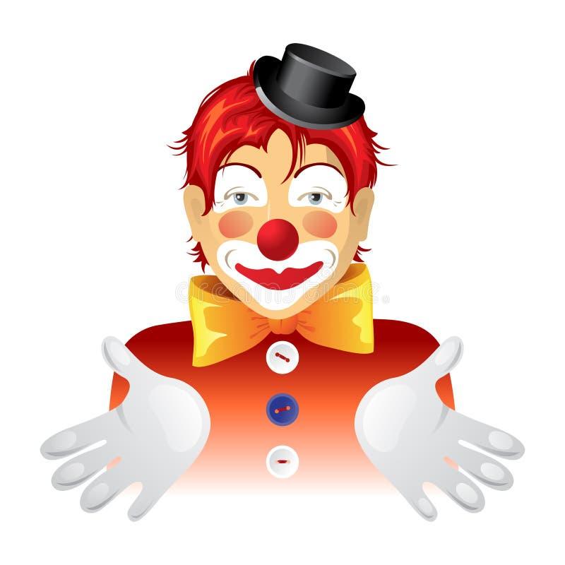小丑 库存例证