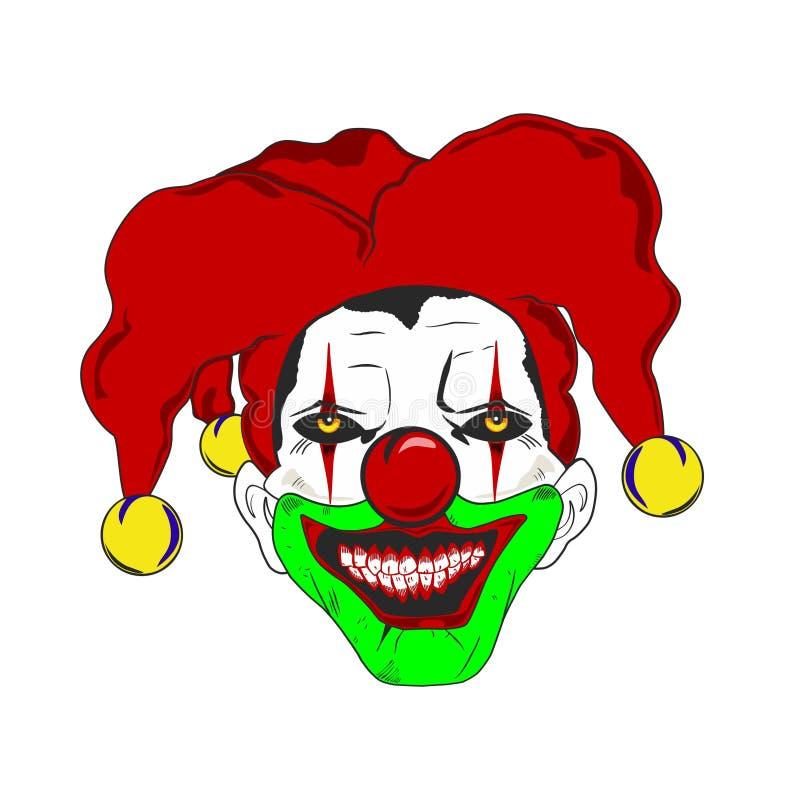 小丑 皇族释放例证