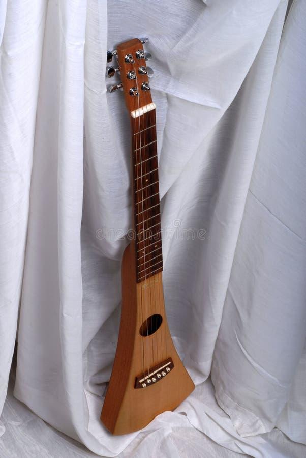 小专业吉他 库存图片