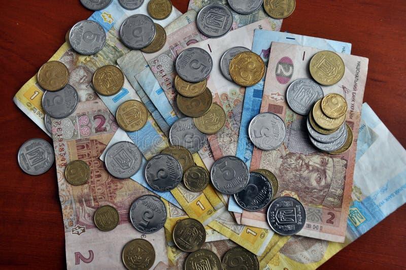 小乌克兰语money_5 库存图片