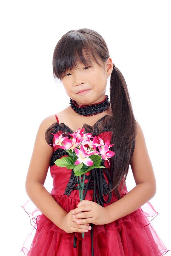 小亚裔女孩照片 库存照片