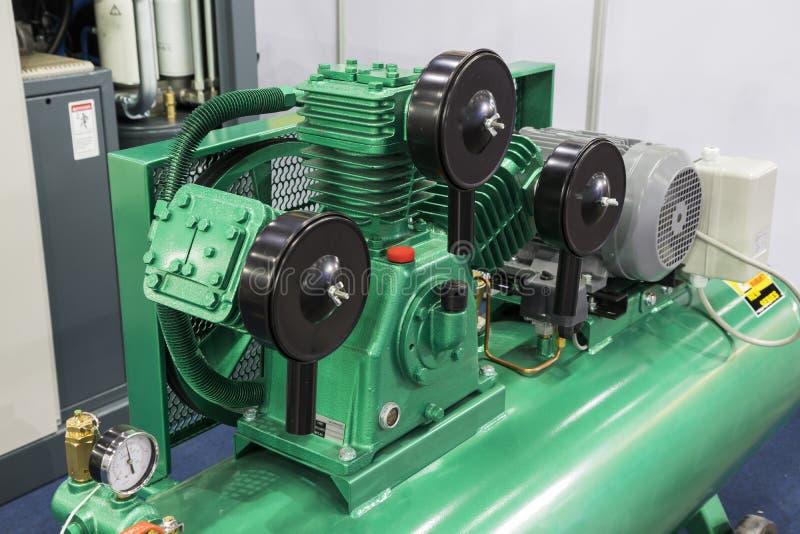 小产业气泵 免版税库存图片