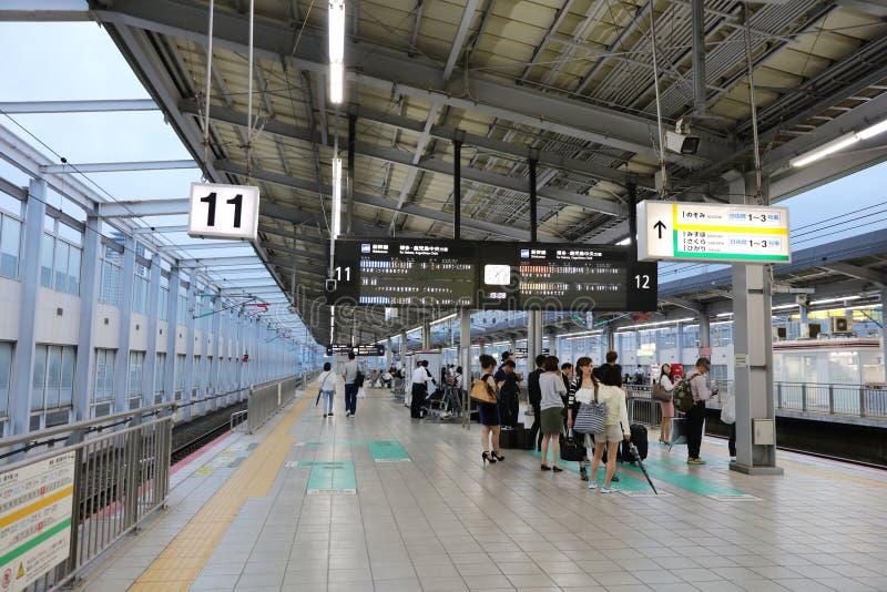小仓铁路终端在北九州 图库摄影