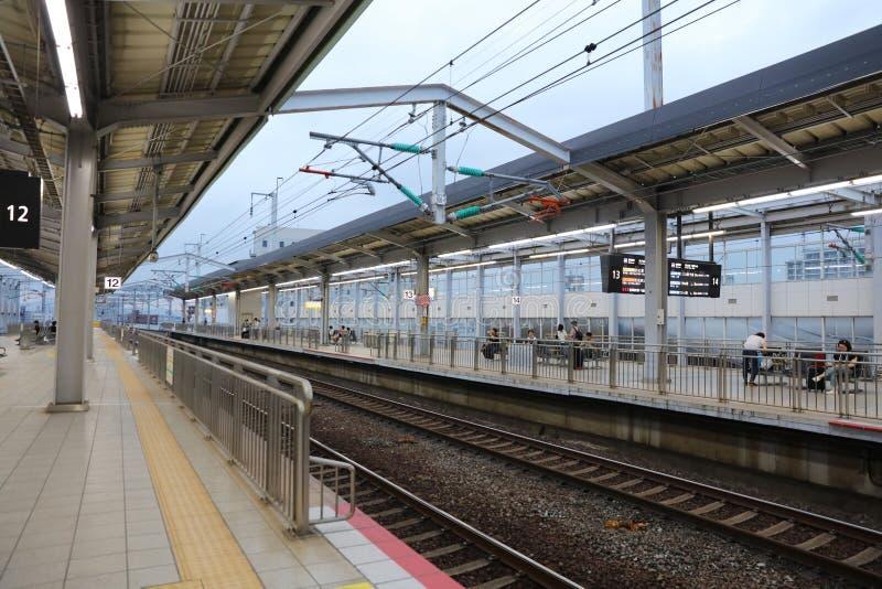 小仓铁路终端在北九州 免版税库存图片