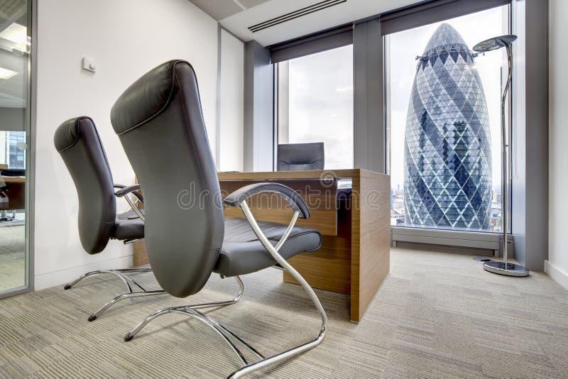 小伦敦的办公室 库存照片