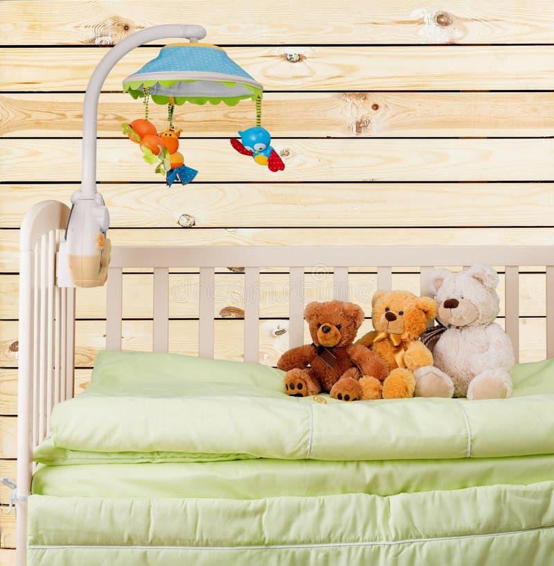 小儿床 免版税图库摄影