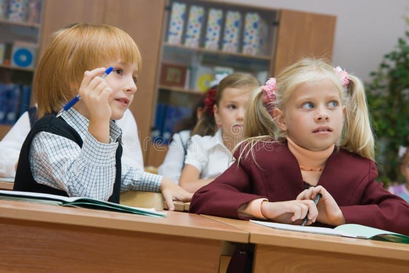 小儿童的课程 免版税库存图片