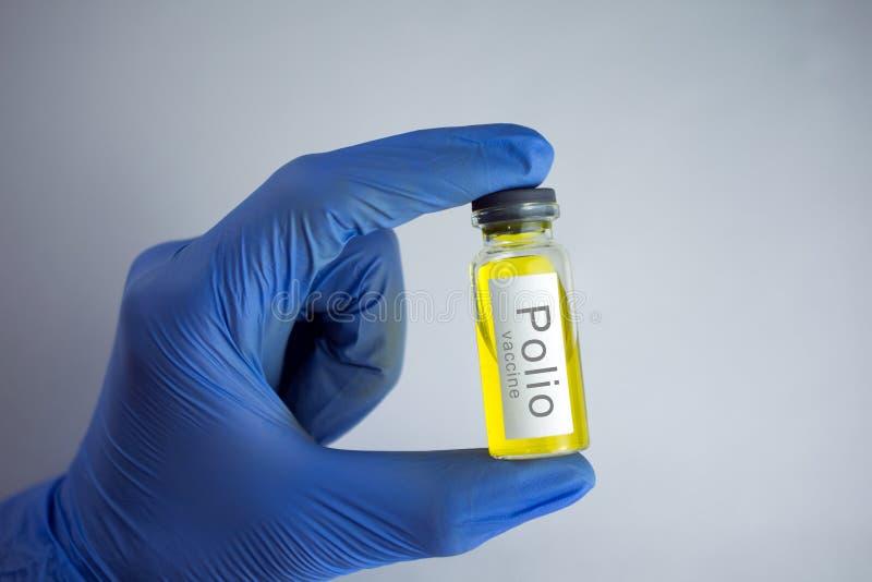 小儿麻痹症疫苗 免版税图库摄影