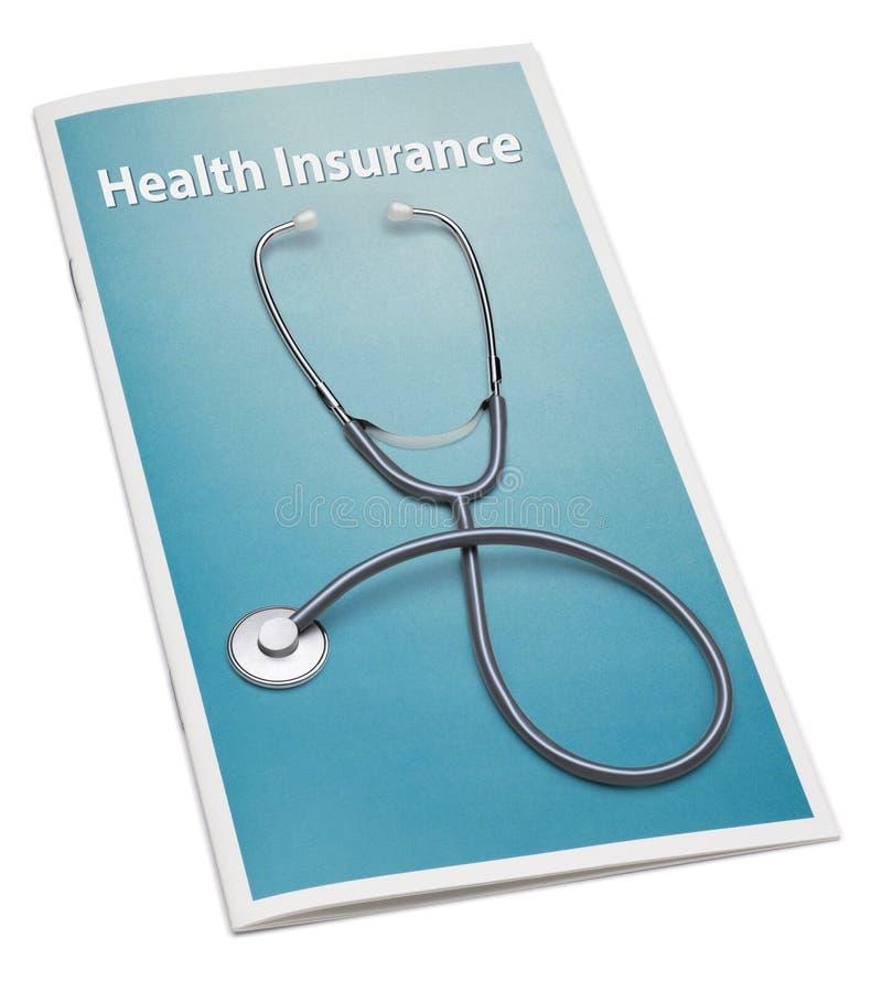 小册子健康保险 免版税库存图片