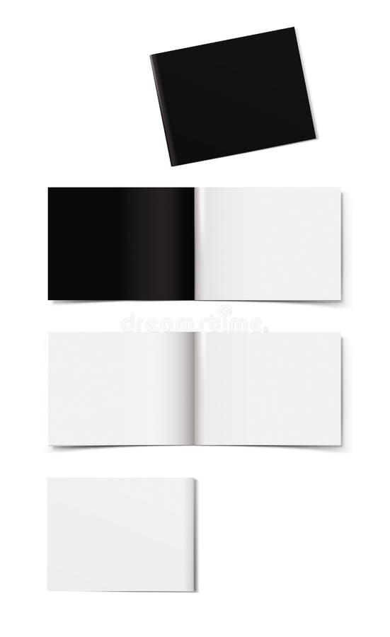 小册子布局 库存图片