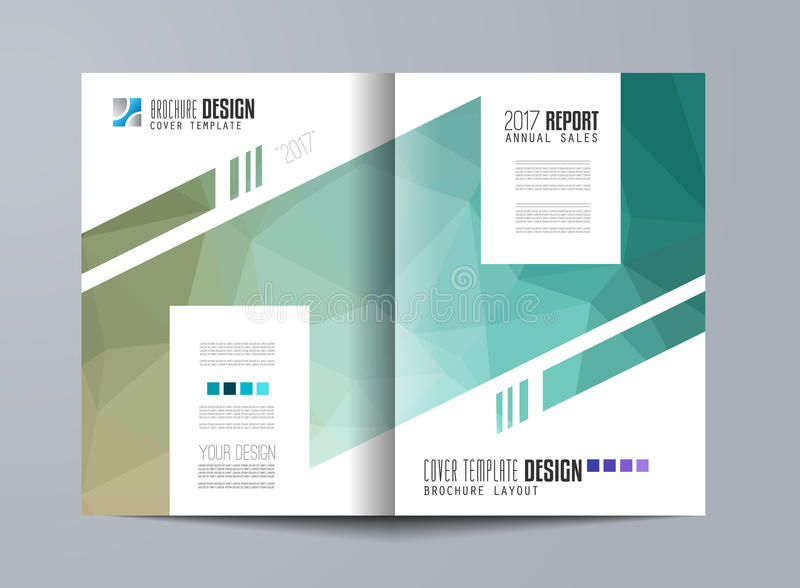 Download 小册子模板、飞行物设计或者Depliant盖子企业介绍的 向量例证 - 插画 包括有 格式, 几何: 72363395