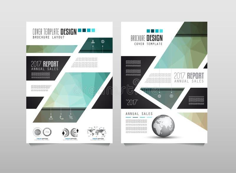 Download 小册子模板、飞行物设计或者Depliant盖子企业介绍的 向量例证 - 插画 包括有 公司, 文件: 72364155