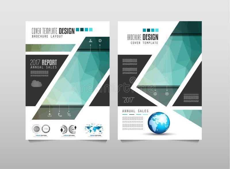 Download 小册子模板、飞行物设计或者Depliant盖子企业介绍的 向量例证 - 插画 包括有 小叶, 海报: 72364457