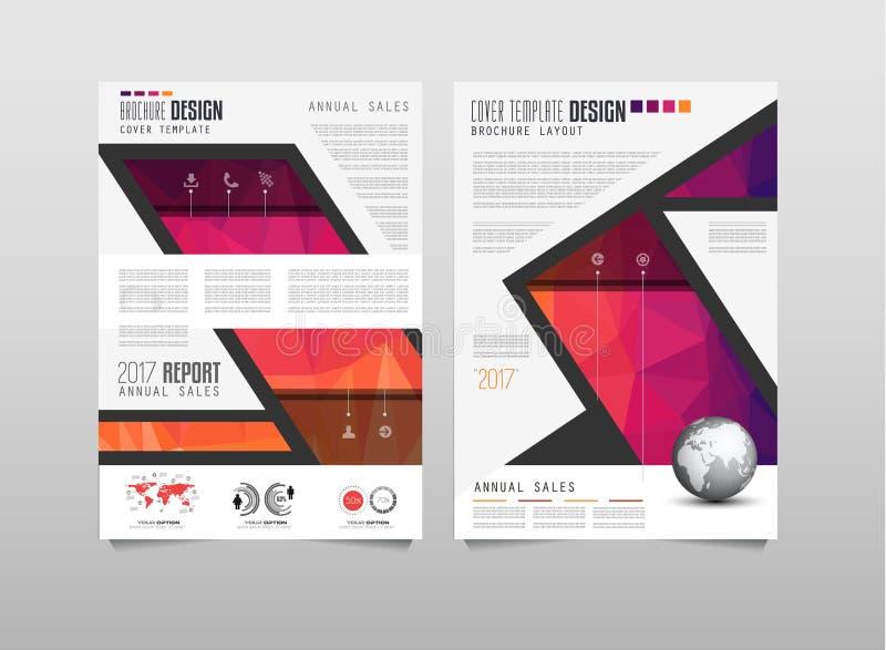 Download 小册子模板、飞行物设计或者Depliant盖子企业介绍的 向量例证 - 插画 包括有 小册子, 介绍: 72364553