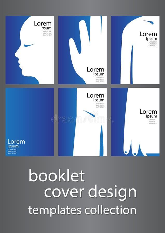 小册子盖子设计 向量例证