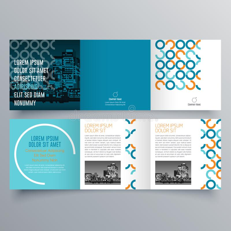 download 小册子设计,小册子模板 向量例证.图片