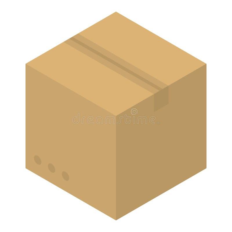 小包箱子象,等量样式 库存例证