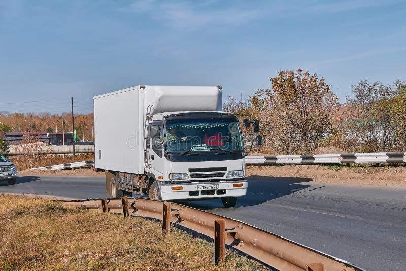 小卡车搬运车 库存照片