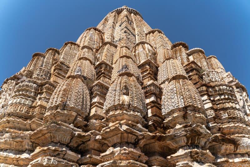 小印度寺庙在印度 免版税库存图片