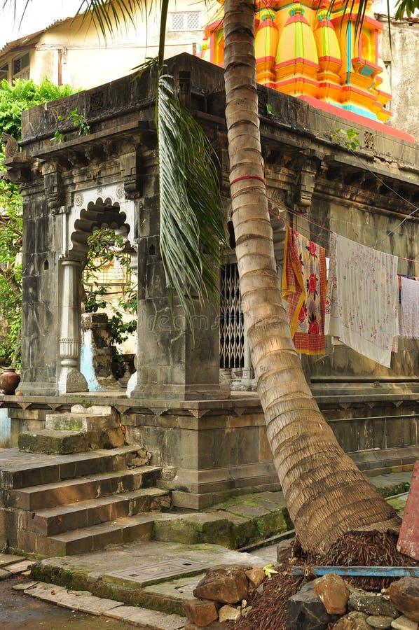 小印度寺庙在孟买,印度 库存照片