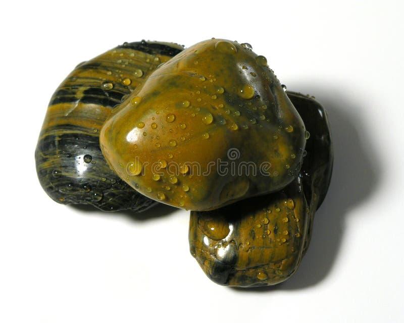 小卵石三 库存图片