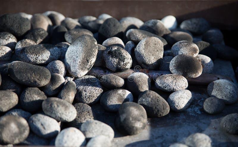 小卵石和石头 库存图片