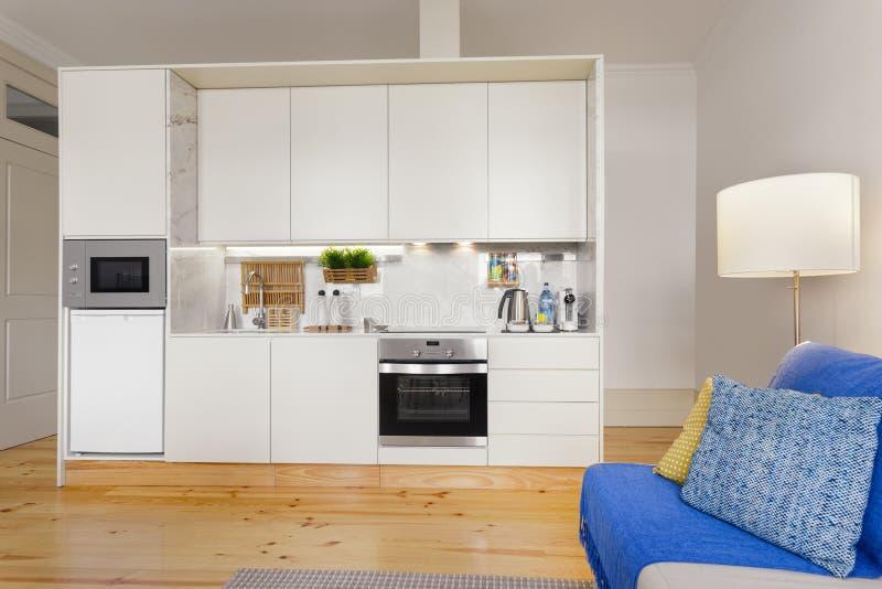 小厨房模块 免版税库存照片