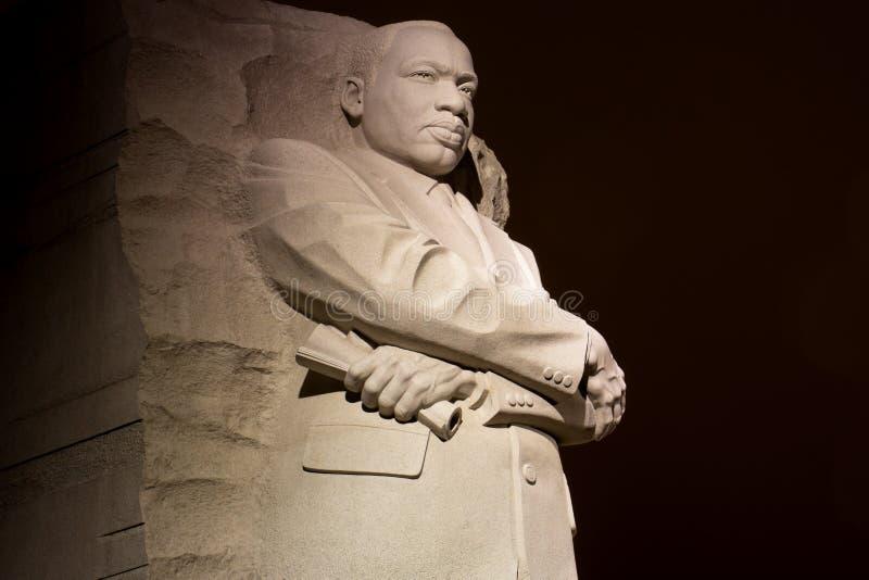 小国王luther马丁 纪念碑 库存图片