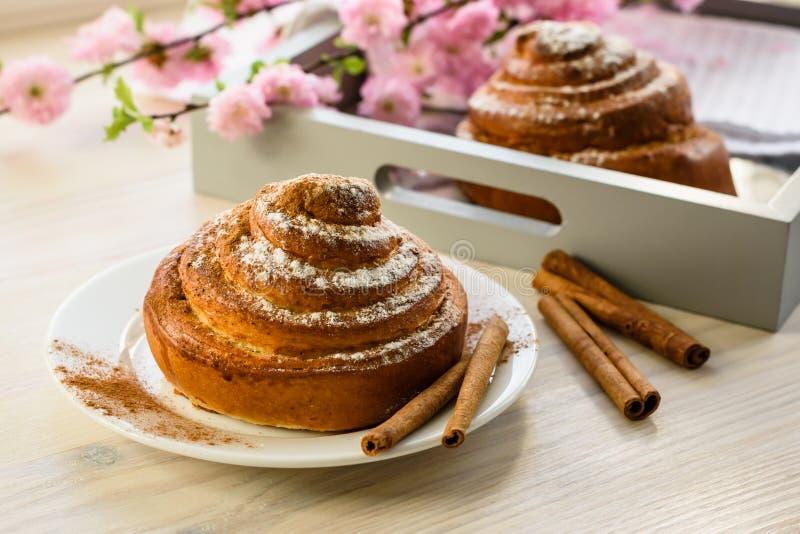 小圆面包桂香甜点 图库摄影