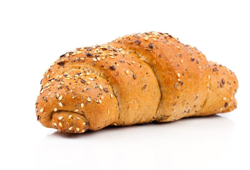 小圆面包植入芝麻 库存图片