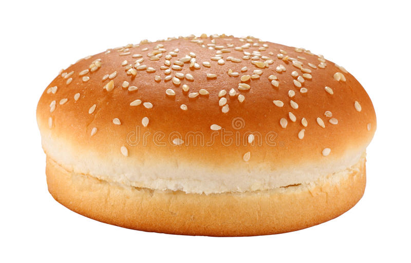 小圆面包汉堡包 图库摄影