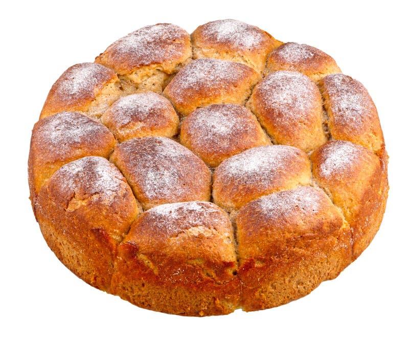 小圆面包用巧克力 免版税库存照片