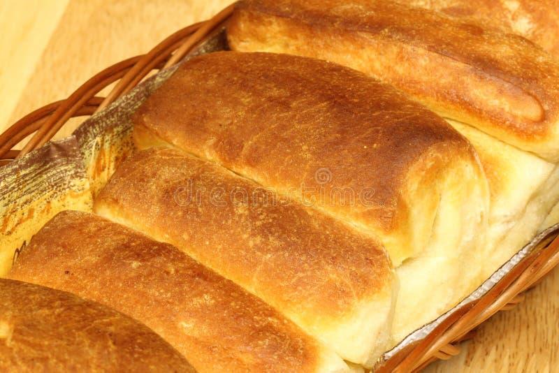 小圆面包黄油 免版税库存图片