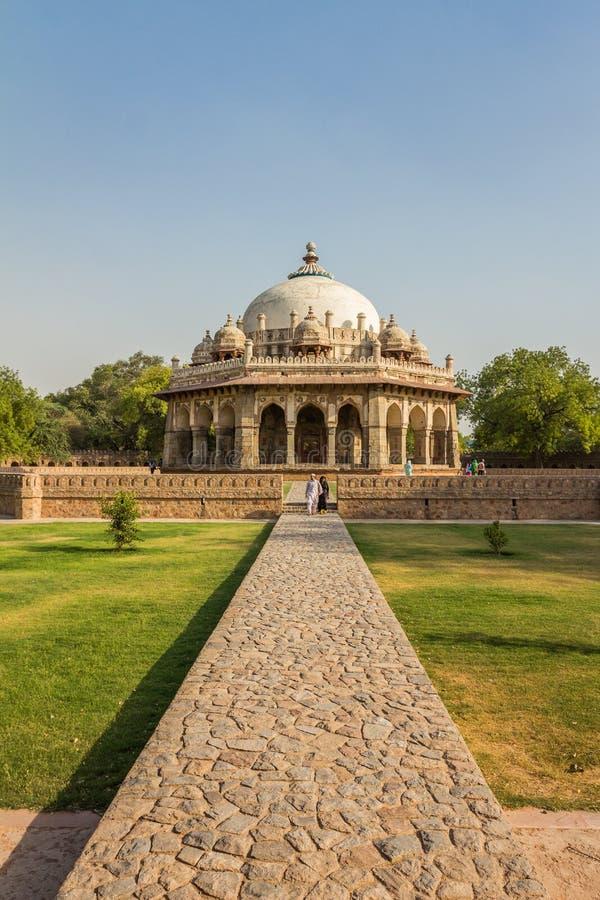 小坟茔在Humayun德里印度 免版税库存图片