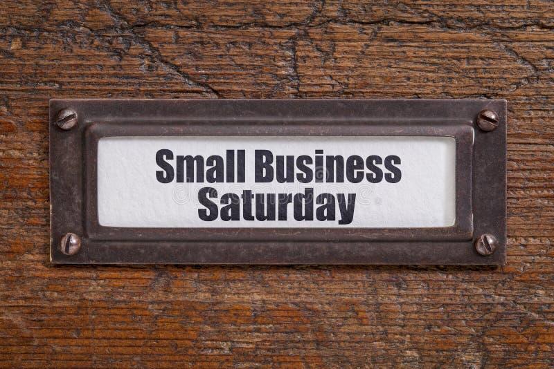 小型企业星期六 库存照片