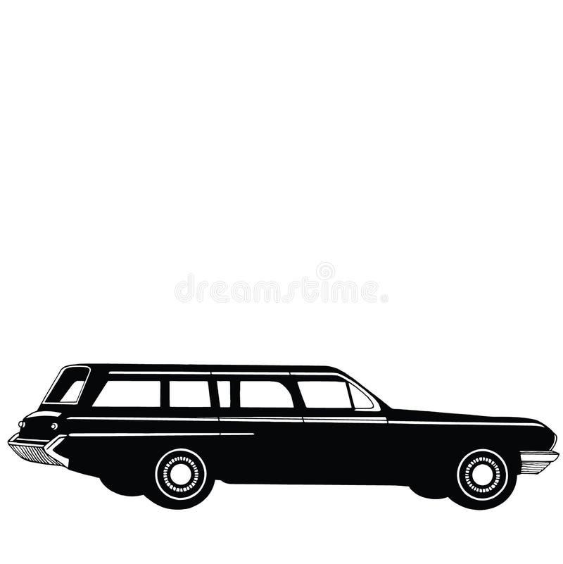 小型客车由crafteroks的传染媒介eps例证 向量例证