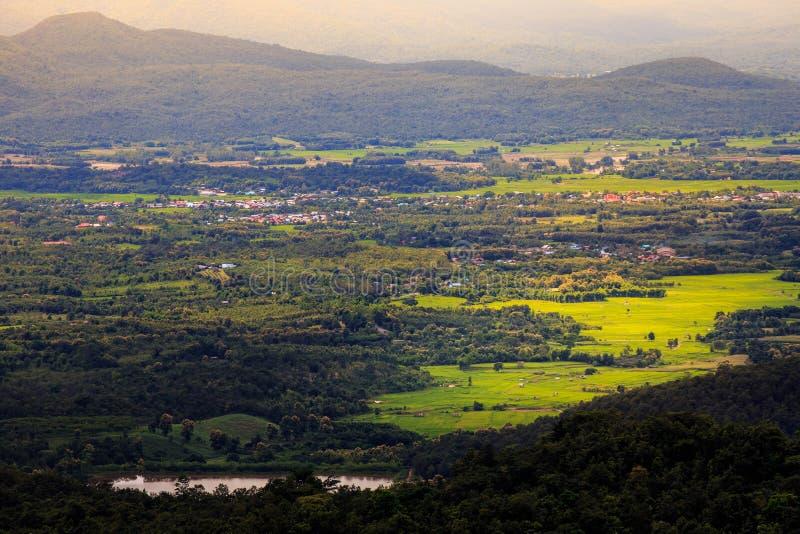 小城市, Phayao,泰国 免版税库存照片