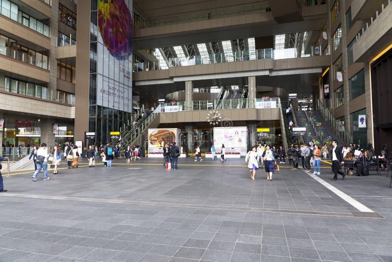 小大阪站 图库摄影