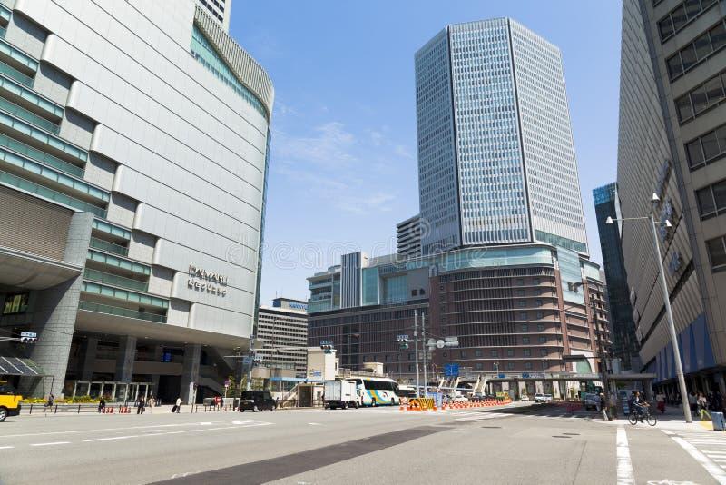 小大阪站 免版税图库摄影