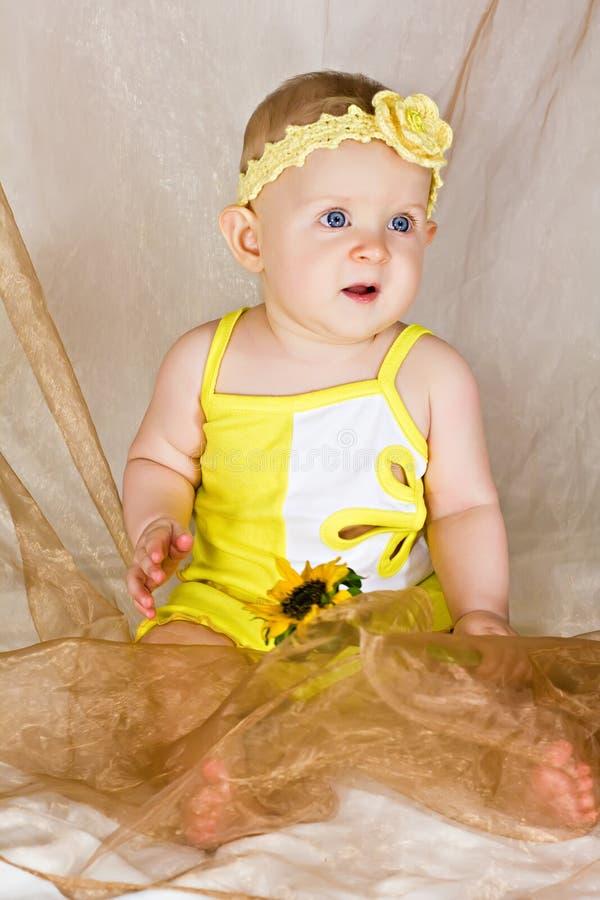 小女婴 图库摄影