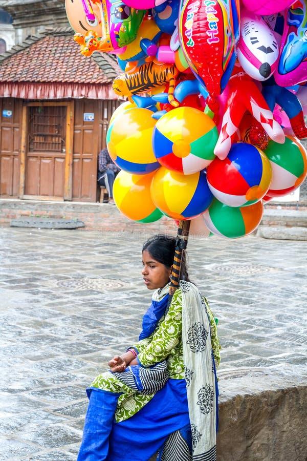 小女孩生活方式  库存图片