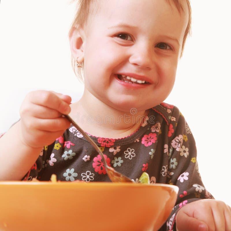 小女婴饿 库存图片