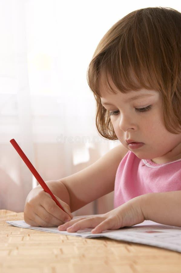 小学龄前儿童 图库摄影
