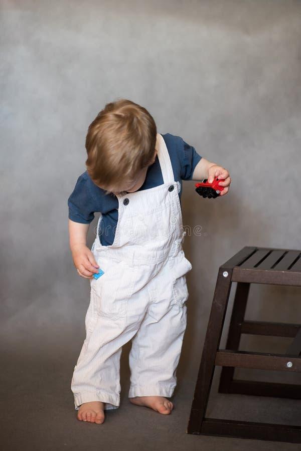 小孩男孩1 图库摄影