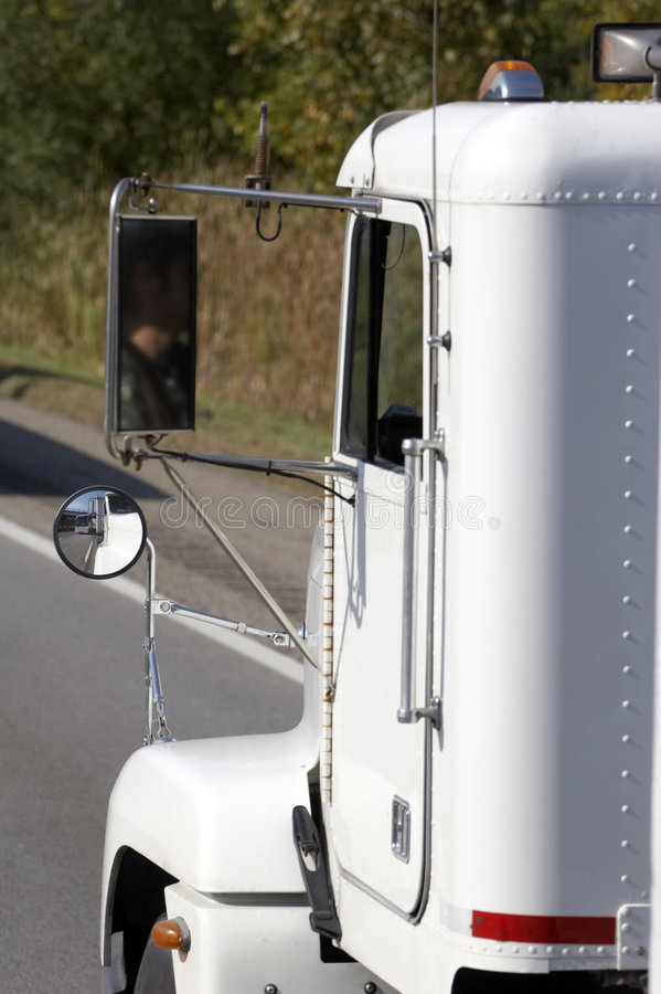 小室详细资料卡车 图库摄影