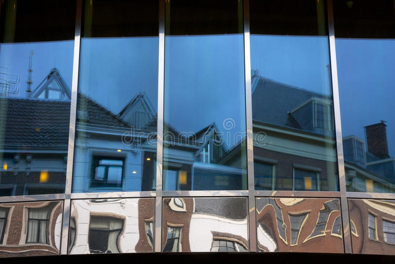 小室Haag的反映 免版税库存图片