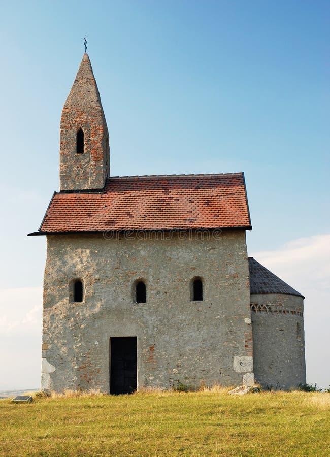 小宽容教堂在斯洛伐克 库存图片