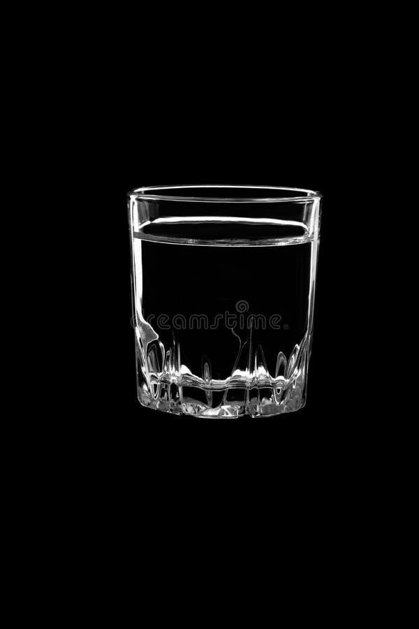小射击用伏特加酒 免版税库存图片